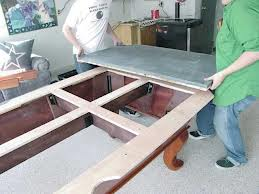 Pool table moves in Chattanooga Tennessee
